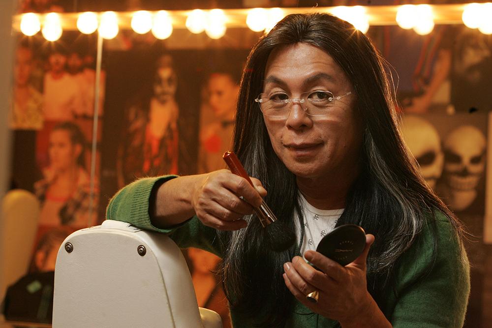 O cabeleireiro Celso Kamura.